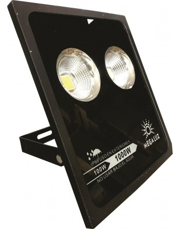 Reflector FLAT Led 100w Blanco Interiores / Exteriores