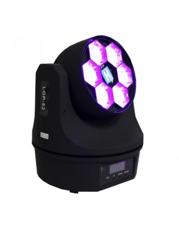 CABEZA ROBOTICA LED 6 EYE 6x12 RGBW