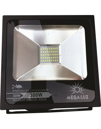 Reflector FLAT Led 30w Blanco Interiores / Exteriores