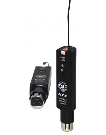 Transmisor Portatil De Audio Inalámbrico Ktx (uhf) Topp Pro