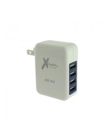 CARGADOR CON 4 PUERTOS USB
