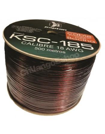 Cable Para Bocina Uso Rudo Polarizado Calibre 18 500 Mts