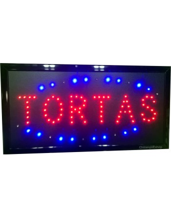 Anuncio Luminoso Led TORTAS