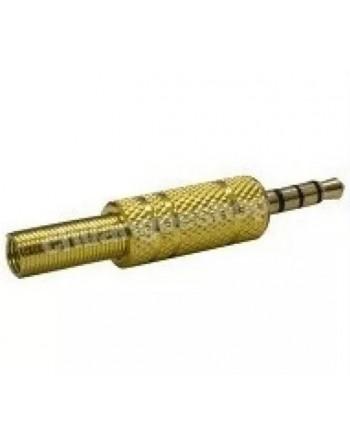 Plug-3.5 mm Dorado Estéreo...