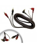 Extension 2 Plugs Rca Por Lado 3.5 mt CON REMOTO