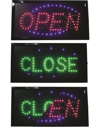 Anuncio Luminoso Led OPEN -...