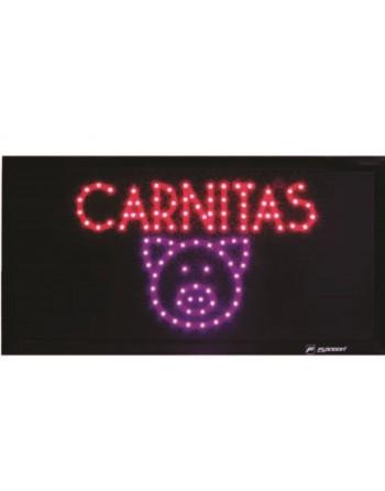 ANUNCIO LUMINOSO LED CARNITAS
