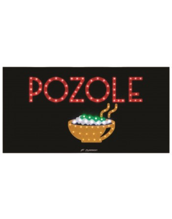 ANUNCIO LUMINOSO LED POZOLE