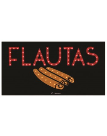 ANUNCIO LUMINOSO LED FLAUTAS