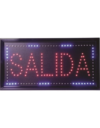 ANUNCIO LUMINOSO LED SALIDA