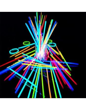 45 Pulseras Neon Cyalume 5...