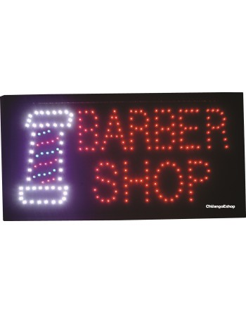 ANUNCIO LUMINOSO LED BARBER...