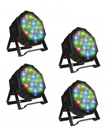 COMBO DE 4 CAÑONES LED 18x1...