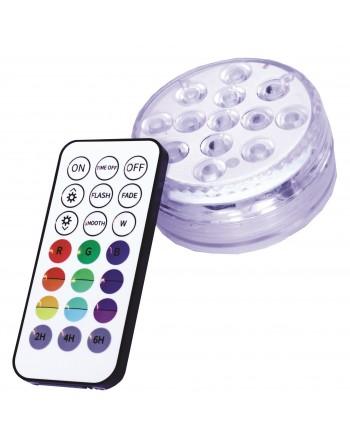 BASE LAMPARA RGB 10 LED...