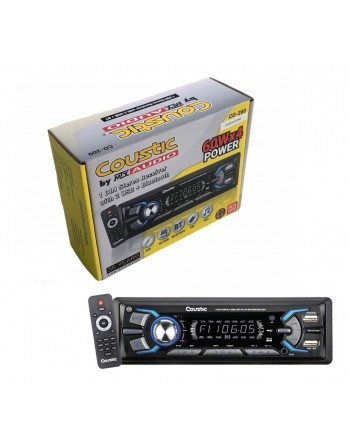 AUTOESTEREO COUSTIC 1 DIN 2...