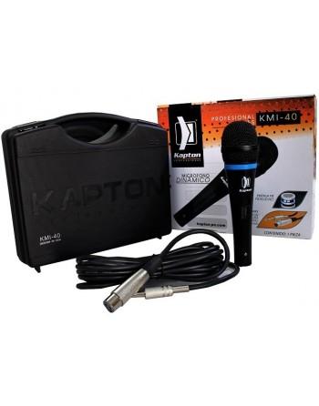 Microfono Profesional Alambrico Kapton Kmi-40 Alta Fidelidad