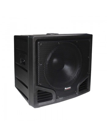 """SUBWOOFER 18"""" AMPLIFICADO 400W RMS THUNDER"""