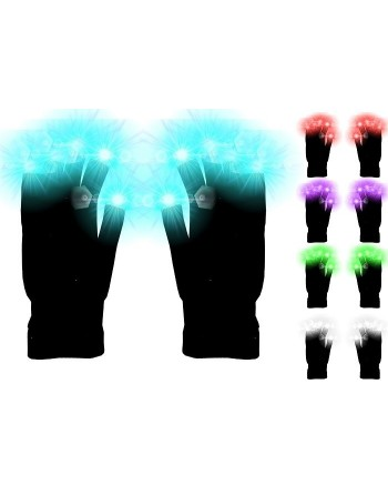 Guantes Luminosos Luz Led...