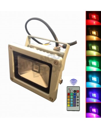 Reflector Led 10w Rgb...