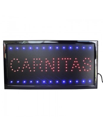 Anuncio Luminoso Led CARNITAS