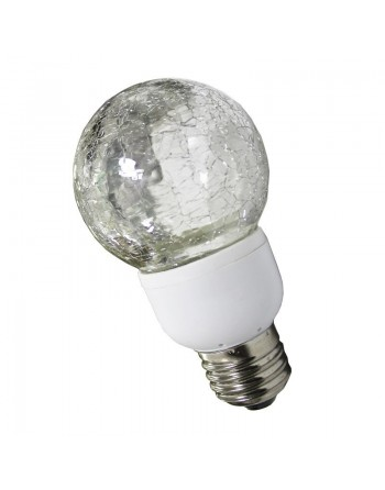 FOCO DECORATIVO LED 1w base E27 CRAQUELADO