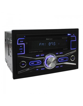 AUTOESTEREO DOBLE DIN CD BLUETOOTH USB SD FM AUX