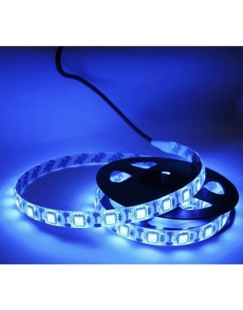 TIRA LED 5050 RGB USB AZUL