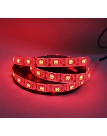 TIRA LED 5050 RGB USB ROJO