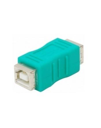 Adaptador de Jacks USB TIPO B A JACK USB TIPO B