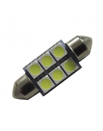 FOCO 6 LED SMD TIPO FESTOON