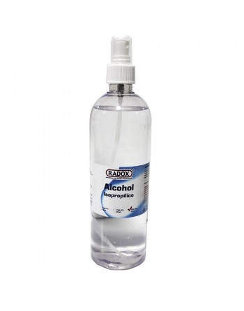 ALCOHOL ISOPROPILICO CON ATOMIZADOR 500ML