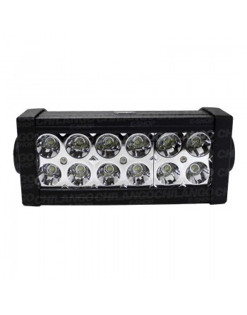 PODEROSA BARRA 12 LED 36w NIEBLA Jeep Motos 4x4