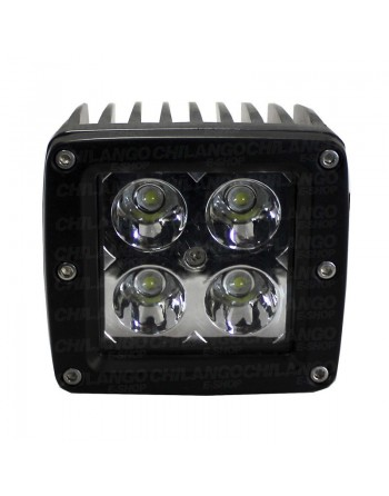 PODERO FARO 4 LED 12w NIEBLA Jeep Motos 4x4