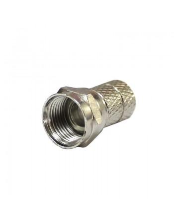 Conector Rg6 F para Cable Coaxial cablevisión sky campana