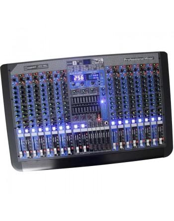 Mezcladora Stereo 16ch BLUETOOTH USB EFECTOS