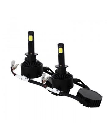 KIT 2 FOCOS LED H1 6000k 2 CARAS