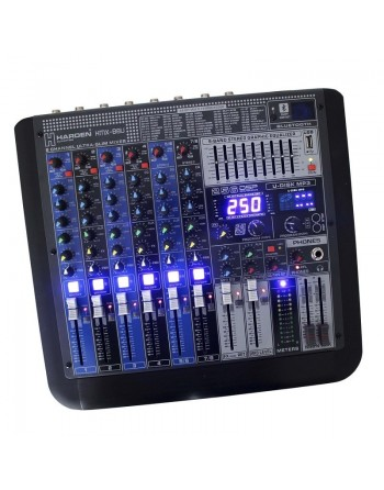 Mezcladora Stereo 8ch BLUETOOTH USB EFECTOS KMX-B8U
