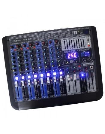 Mezcladora Stereo 12ch BLUETOOTH USB EFECTOS KMX-B12U
