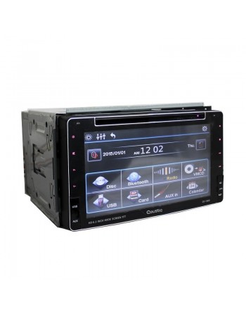 Autoestereo Coustic Pantalla 6.2 Gps Bluetooth Usb Sd Fm Eq