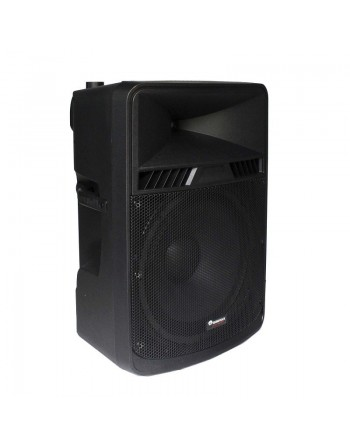 SUPER BAFLE TRI AMPLIFICADO 18 SOUNDTRACK 400w RMS USB SD MICROFONO