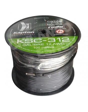 Cable Para Bocinas Cal. 12...