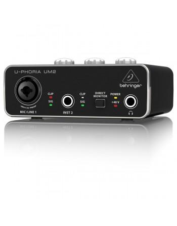 Behringer U-Phoria UM2 Interfaz de Audio USB