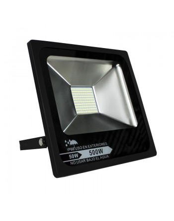 Reflector FLAT Led 50w Blanco Interiores / Exteriores