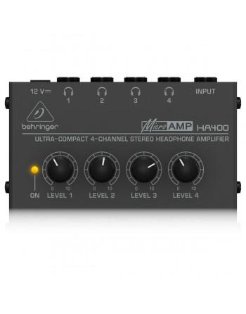 Amplificador Para Audifonos  Behringer Ha400